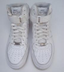 Nike air visoke bijele kožne tenisice