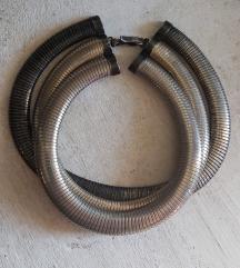 Gusjenasta ogrlica vintage style