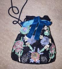 Mala šljokičasta torbica