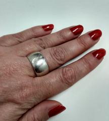 Vintage prsten srebro 925, masivan i tezak