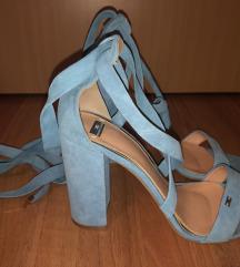 Elisabetta Franchi plave sandale vel. 40