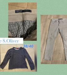 Muški lot novih hlača i pulover s.oliver
