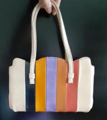 Vintage Art Deco kožna torba
