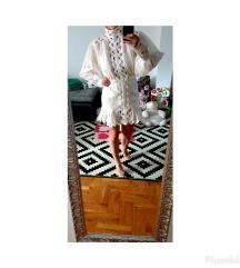 Zimmermann autenticna 1 nošena lanena haljina AU1