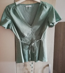 Reserved mint zelena bluza 38