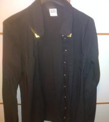 Vero Moda black blouse golden botton