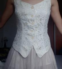 Komplet mini suknja i prsluk (LOT)