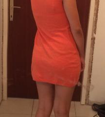 Narancasta topla haljina/tunika