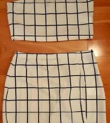 Nenosna ljetna top-suknja