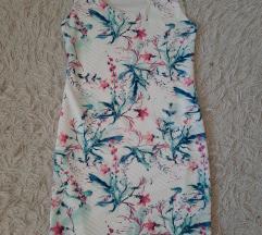 Cvjetna haljina (bijela)
