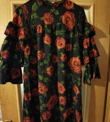Jesenska cvjetna haljina