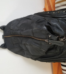 Kožni patchwork ruksak