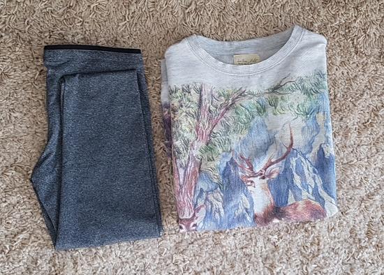 Pull& bear tajice i zara majica
