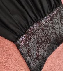 Crna svečana haljina