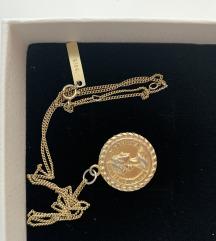 Ogrlica medaljon Elizabeth