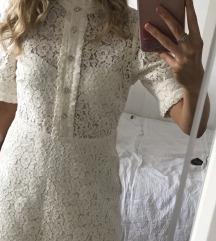 Zara čipkasti haljina