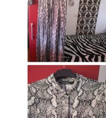 Zara haljina životinjski uzorak