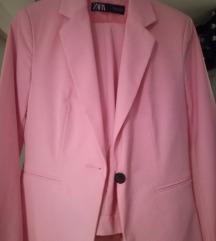 Zara rozo odijelo (36)