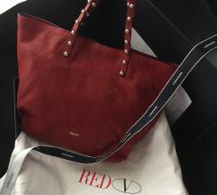 💫Red valentino predivna torba od prave koze:)