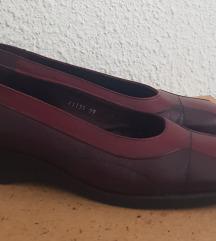 dvobojne kozne cipele