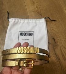 Rezz Moschino Couture kožni remen novo - original