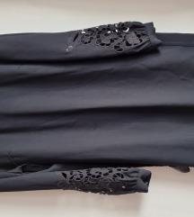 h&m haljina crna