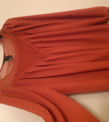 Zagasito narančasta bluza H&M