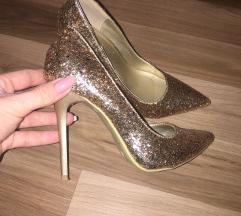 Divne glitter zlatne  salonke 🔝🔝🔝
