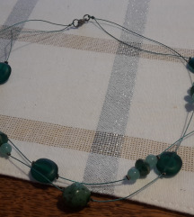Dvoslojna ogrlica s poštom