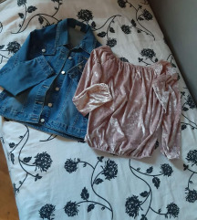 Traper jakna i majica