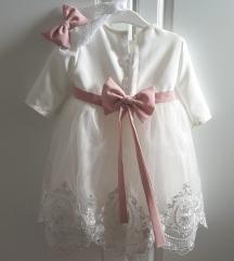 krsna haljinica