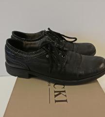 Muške crne kožne cipele LASOCKI broj 44