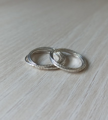 Dva prstena od .925 srebra