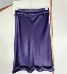 Sjajna ljubičasta suknja