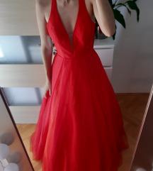 nova asos maxi crvena haljina- sa super ledima 36