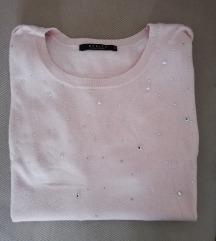 Mohito roza majica sa cirkonima