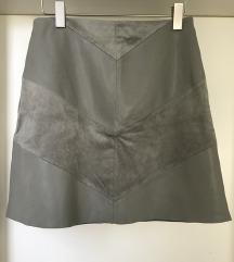 ZARA suknja ekokoža-S