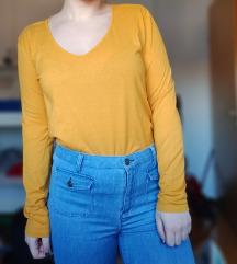 Narančastožuta pamučna majica