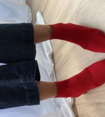 Čizme crvene Zara
