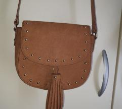 H&M smeđa torbica