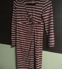 Nova Esmara prugasta trudnička haljina S 36/38