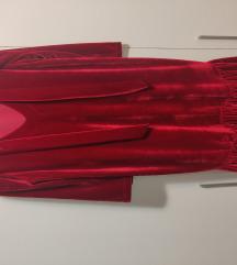 Bozicna crvena haljina