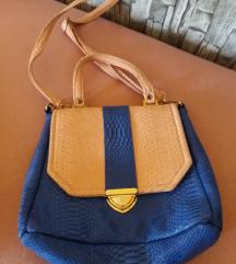 Plavo roza torba