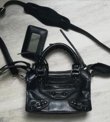 Crna rokerska torba sa PT
