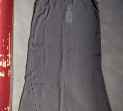 Nova s etiketom slip crna haljina