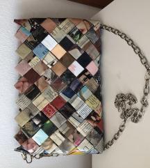 Rucno radena torbica od novina