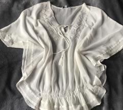 Bijela tunika /majica za plažu