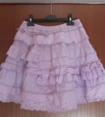 Oilily lila suknja 10-12