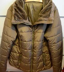 Janina smeđa zimska jakna (PT GRATIS)