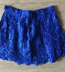 Nebesko plava suknja
